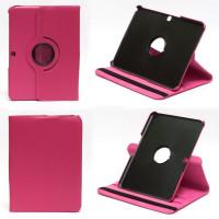 Чехол Samsung Galaxy Tab 4 10.1 T530 T531 SWIVEL ROSE розовый с поворотным механизмом