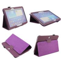 Чехол Samsung Galaxy Tab 4 10.1 T530 T531 T535 и Tab 3 10.1 P5200 P5210 фиолетовый