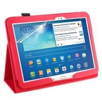 Чехол Samsung Galaxy Tab 4 10.1 T530 T531 T535 и Tab 3 10.1 P5200 P5210 красный