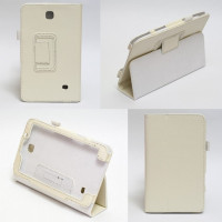 Чехол Samsung Galaxy Tab 4 7.0 T230 T231 WHITE BOOK белый книжка