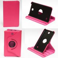 Чехол Samsung Galaxy Tab 4 7.0 T230 T231 ROSE RED SWIVEL розовый поворотный