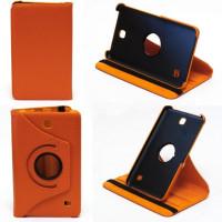 Чехол Samsung Galaxy Tab 4 7.0 T230 T231 ORANGE SWIVEL оранжевый с поворотным механизмом
