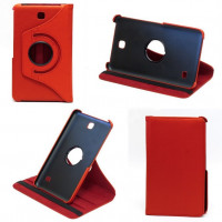 Чехол Samsung Galaxy Tab 4 7.0 T230 T231 RED SWIVEL красный поворотный