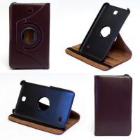 Чехол Samsung Galaxy Tab 4 7.0 T230 T231 BROWN SWIVEL коричневый с поворотным механизмом