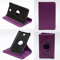 Чехол Samsung Galaxy Tab 4 7.0 T230 T231 PURPLE SWIVEL фиолетовый с поворотным