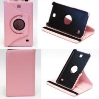 Чехол Samsung Galaxy Tab 4 7.0 T230 T231 PINK SWIVEL розовый с поворотным механизмом