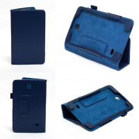 Чехол Samsung Galaxy Tab 4 7.0 T230 T231 DARK BLUE BOOK синий книжка