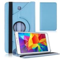 Чехол TTX Цвет: БИРЮЗОВЫЙ с поворотным механизмом для Samsung Galaxy Tab 4 7.0 T230 T231 T235
