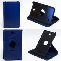 Чехол Samsung Galaxy Tab 4 7.0 T230 T231 DARK BLUE SWIVEL синий с поворотным механизмом