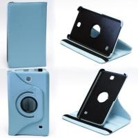 Чехол Samsung Galaxy Tab 4 7.0 T230 T231 T235 BLUE SWIVEL бирюзовый с поворотным механизмом