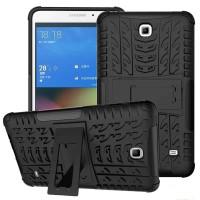 Чехол-накладка защитный черный для планшета Samsung Galaxy Tab 4 7.0 t230 t231 t233 T235 BUMPER BLACK SKELETON