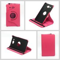 Чехол Samsung Galaxy Tab A 7.0 T280 T281 T285 SWIVEL ROSE RED темно-розовый с поворотным механизмом