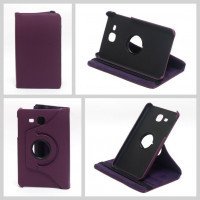 Чехол Samsung Galaxy Tab A 7.0 T280 T281 T285 SWIVEL PURPLE фиолетовый с поворотным механизмом