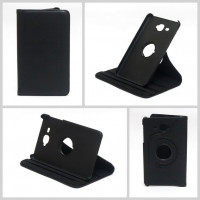 Чехол Samsung Galaxy Tab A 7.0 T280 T281 T285 SWIVEL BLACK черный с поворотным механизмом