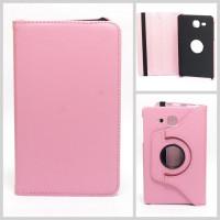 Чехол Samsung Galaxy Tab A 7.0 T280 T281 T285 SWIVEL PINK светло-розовый с поворотным механизмом