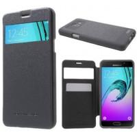 Чехол Mercury Wow Bumper series для смартфона Samsung Galaxy A5 2016 SM-A510F Цвет:ЧЕРНЫЙ