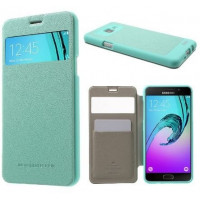 Чехол Mercury Wow Bumper series для смартфона Samsung Galaxy A5 2016 SM-A510F Цвет: БИРЮЗОВЫЙ