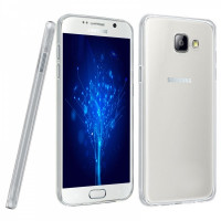 Ультратонкий Силиконовый (TPU) Чехол-накладка для смартфона Samsung Galaxy A5 2016 SM-A510F