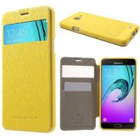 Чехол Mercury Wow Bumper series для смартфона Samsung Galaxy A5 2016 SM-A510F Цвет: ЖЕЛТЫЙ