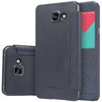 Чехол Nillkin SPARKLE FLIP GRAPHITE для смартфона Samsung Galaxy A5 2016 SM-A510F Цвет:темно-серый графит