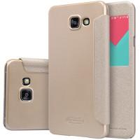 Чехол Nillkin SPARKLE FLIP GOLD для смартфона Samsung Galaxy A5 2016 SM-A510F Цвет:золотой