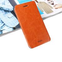 Чехол MOFI FLIP BROWN для смартфона Samsung Galaxy A5 2016 SM-A510F коричневый