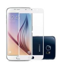 Защитное стекло с цветной рамкой для экрана смартфона Samsung Galaxy A5 2017 A520F Цвет: БЕЛЫЙ