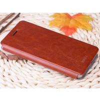 Чехол MOFI FLIP BROWN для смартфона Samsung Galaxy A7 2016 SM-A710F коричневый