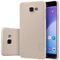Чехол-бампер Nillkin MATTE Gold для смартфона Samsung Galaxy A7 2016 SM-A710F золотой
