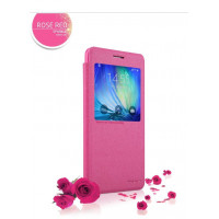 Чехол Nillkin SPARKLE FLIP PINK для смартфона Samsung Galaxy A7 SM-A700F Цвет:розовый