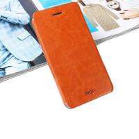 Чехол MOFI FLIP BROWN для смартфона Samsung Galaxy A7 SM-A700F коричневый