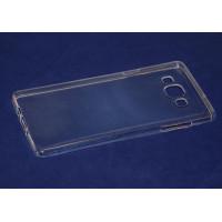 Чехол-бампер силиконовый для смартфона Samsung Galaxy A7 SM-A700F прозрачный