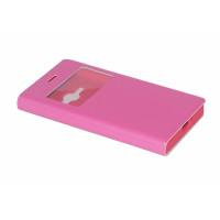 Чехол BRUM FLIP PINK для смартфона Samsung Galaxy J1 2016 SM-J120F Цвет: розовый