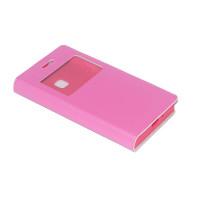 Чехол BRUM FLIP PINK для смартфона Samsung Galaxy J1 SM-J105F Цвет: розовый