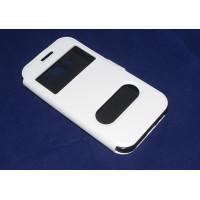 Чехол FASHION FLIP WHITE для смартфона Samsung Galaxy J2 SM-J200F белый