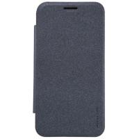 Чехол Nillkin SPARKLE FLIP GRAPHITE для смартфона Samsung Galaxy J2 SM-J200F Цвет:темно-серый графит