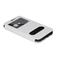 Чехол FASHION FLIP BLACK для смартфона Samsung Galaxy J5 SM-J500F белый