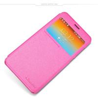 Чехол Nillkin SPARKLE FLIP ROSE для смартфона Samsung Galaxy J5 2016 SM-J510F Цвет: розовый