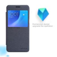 Чехол Nillkin SPARKLE FLIP GRAPHITE для смартфона Samsung Galaxy J5 2016 SM-J510F Цвет: черный графит