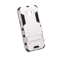 Чехол-накладка защитный Transformer SATIN SILVER для смартфона Samsung Galaxy J5 2016 SM-J510F СЕРЕБРИСТЫЙ