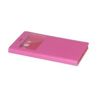 Чехол BRUM FLIP PINK для смартфона Samsung Galaxy J5 2016 SM-J510F Цвет: розовый