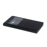 Чехол BRUM FLIP BLACK для смартфона Samsung Galaxy J7 SM-J700F черный