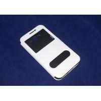 Чехол FASHION FLIP WHITE для смартфона Samsung Galaxy J7 SM-J700F белый